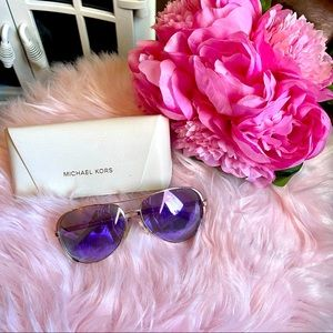 MICHAEL KORS MK5004 CHELSEA purple sunglasses